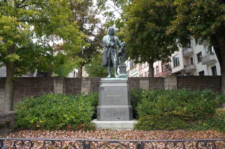 Bach Statue, Eisenach