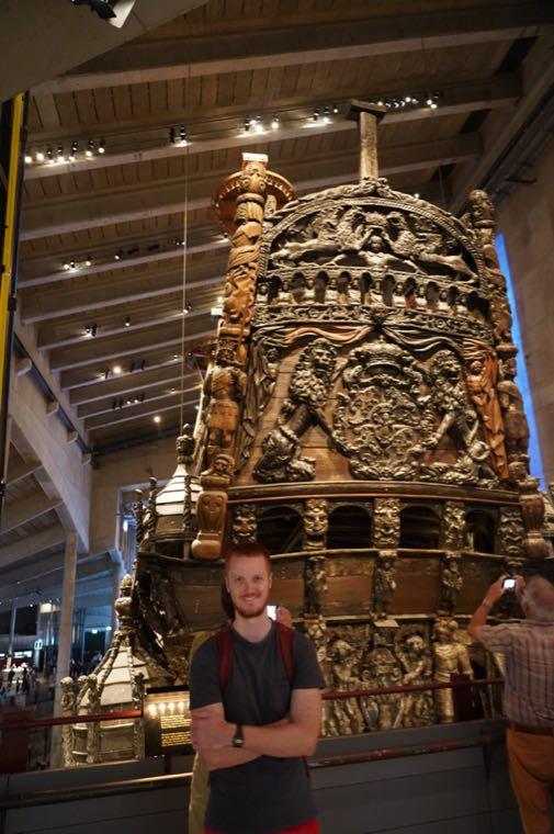 Me and the Vasa Ship