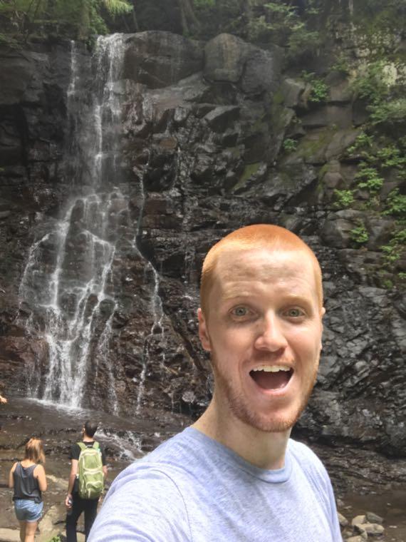 Waterfall Near Mt. Fuji
