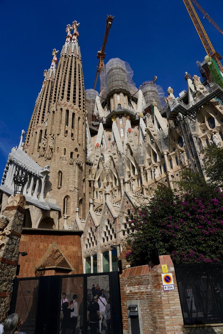 Back of Sagrada Família