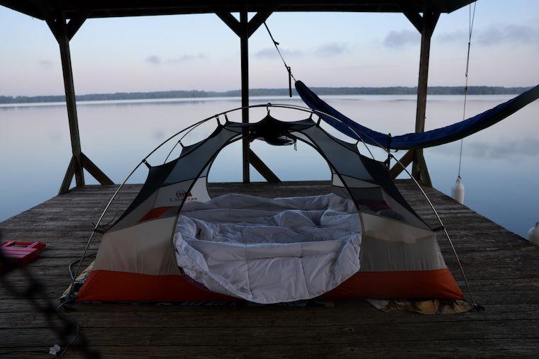 Dock Camping