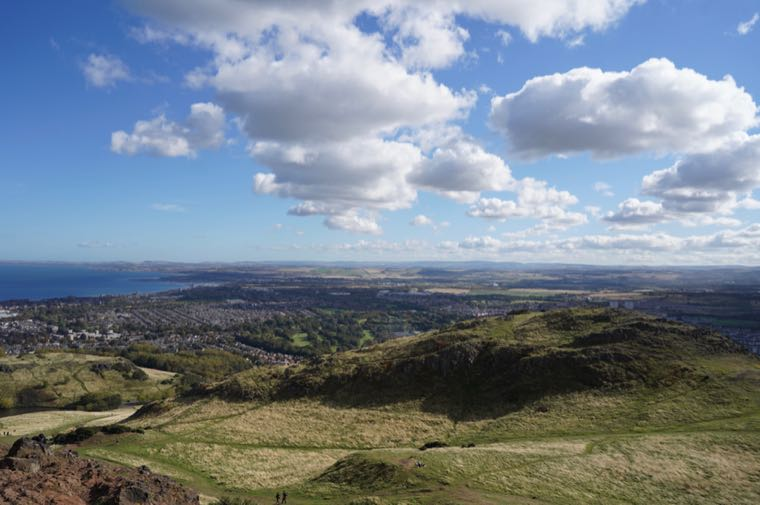East from Arthur's Seat